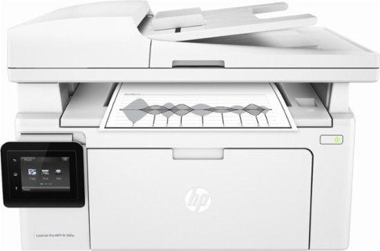 Hp Laserjet Pro Mfp M130fw Wireless Black And White All In One Laser Printer White G3q60a Bgj Best Buy Laser Printer Hp Laser Printer Printer