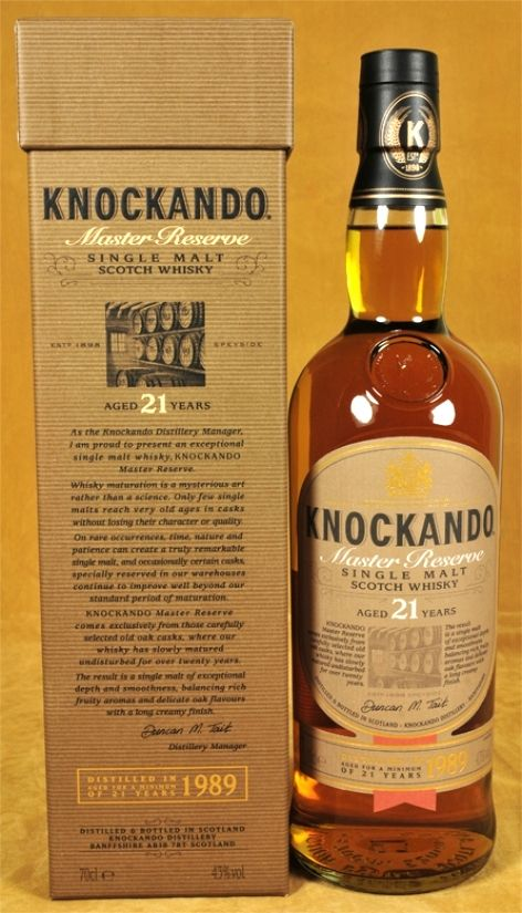 Knockando Whisky 21 y.o.