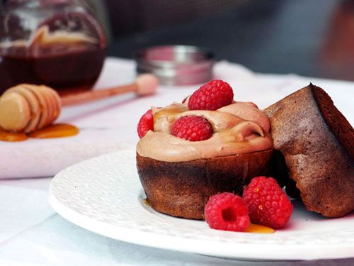 ... Popovers with Chocolate Mousse and Raspberries | Mousse, Chocolate and