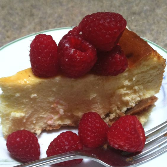 You know you have a very smart 14 year old when he asks you to make New York Cheesecake for his birthday cake         (recipe from Baking Illustrated)! Yum!