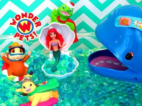 Wonder Pets Great Whale Rescue Orbeez Itsplaytime612 Youtube Wonder Pets Great Whale Pets