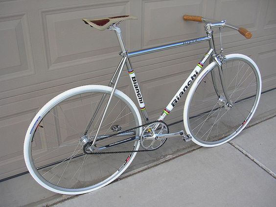 Bianchi Pista-Drive Side | Flickr - Photo Sharing!