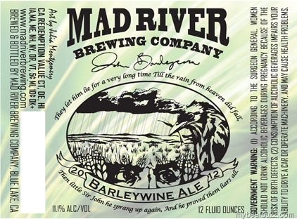 Mad River - John Barleycorn Barleywine Ale
