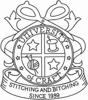 University of Craft: Embroidery University, Embroidery Patterns, Craft Urban, Crafts Embroidery, Awesome Embroidery, Cross Stitches, Funny Embroidery Pattern, Embroidery Designs