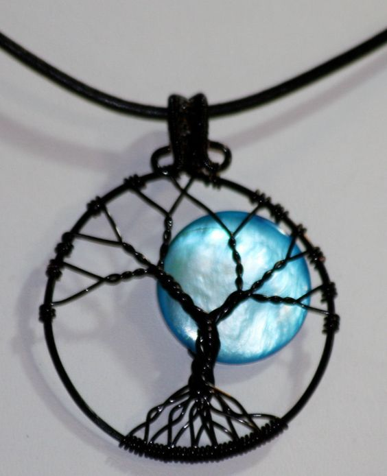 Tree of Life Full Moon Necklace