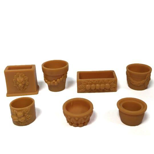 Shop For The Mini Flower Pots By Ashland At Michaels Flower Pots Pixie Doors Tiny Treasures