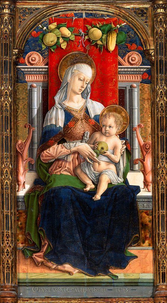 Carlo Crivelli, Madonna di Ascoli: