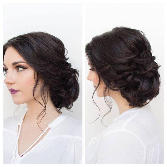 Beautiful bridal hair: