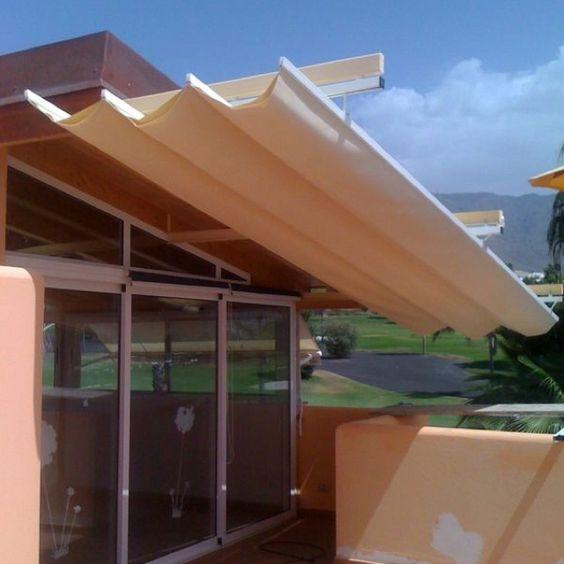 Toldo modelo andaluz obra villa golf de adeje - Modelos de toldos ...