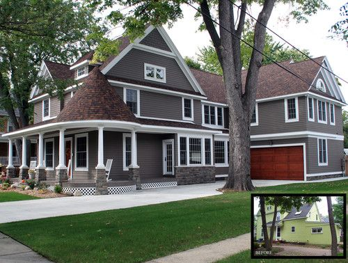 Best Chocolate Brown Siding Exterior House Color Pinterest 400 x 300
