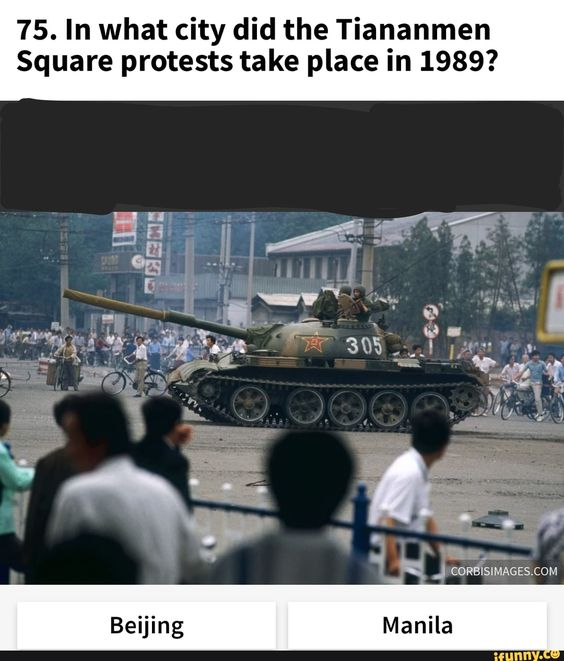 75 In What City Did The Tiananmen Square Protests Take Place In