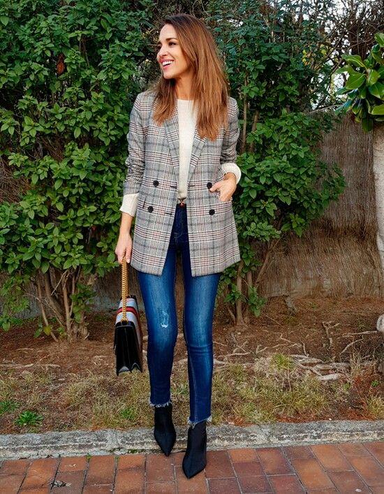Ropa de mujer MORE & MORE Chaqueta de invierno marrón look