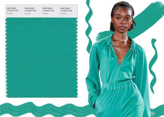 Pantone Spring/ Summer 2018 Color Trends: Arcadia