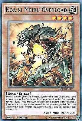 Original Konami YuGiOh Trading Card aus Secrets of Eternity.  SECE-EN033  Koa'Ki Meiru Overload (Überladung von Koa'ki Meiru)  Seltenheit: Rare - 1st Edition  GBA-Code: 14309486 | Jetzt günstig bei eBay kaufen!