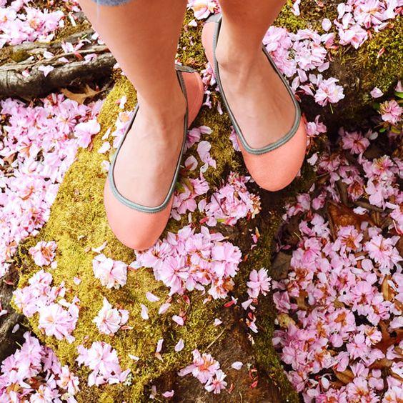 Custom Rose Quartz Ballerine Ballet Flats: Soft Star Shoes, $140