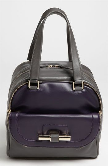 Jimmy Choo 'Justine - Small' Bicolor Leather Satchel | Nordstrom