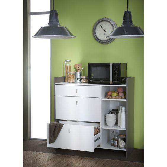 Mueble microondas battery cosas de casa pinterest - Mueble microondas conforama ...