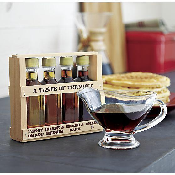 Taste of Vermont Syrup Sampler | Crate and Barrel