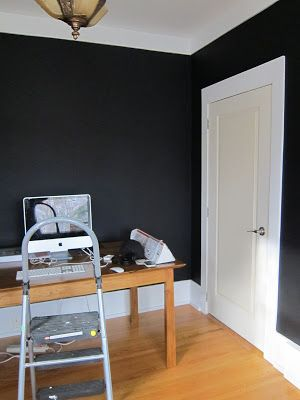 benjamin moore black beauty breakfast dining pinterest. Black Bedroom Furniture Sets. Home Design Ideas