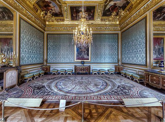 Versailles salon des nobles de la reine versailles for Salon de versailles