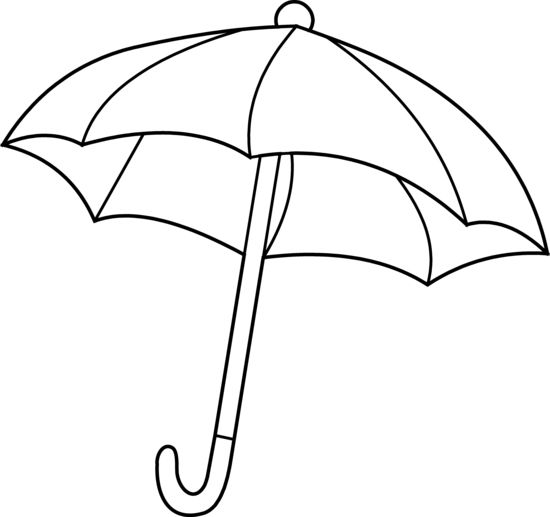 Beach Vacation A Kids Drawing Of Beach Umbrella Coloring Page Umbrella Coloring Page Drawing For Kids Line Drawing