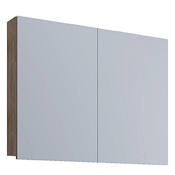 Vcm Spiegelschrank Vcb 1 80 Cm Badspiegel Spiegel