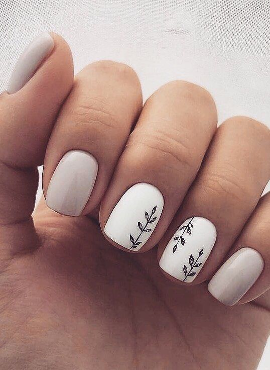 40 Pretty And Simple Short Nail Ideas For 2019 Fall Winter Hcylife Blog Short Acrylic Nails Designs Stylish Nails Designs Cute Nail Art Designs