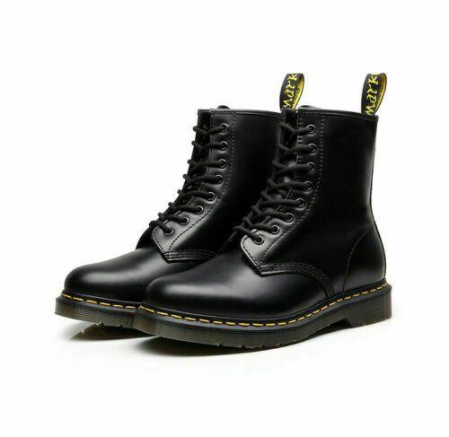 Dr Martens1460 Airwair Leather 8 Eye Women Ankle Fashionable Unique UNISEX Boots