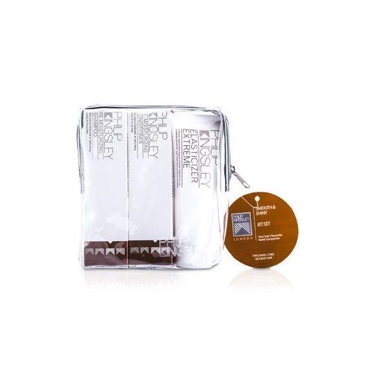 Suave e brilhante Jet Set: Shampoo + Condicionador 75ml 75ml + 75ml Elasticizer extrema PHI534C