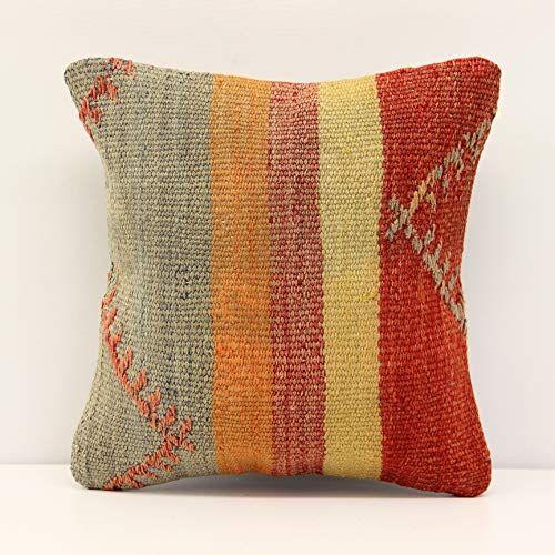 Decorative Kilim Pillow Cover 12x12 Inch 30x30 Cm Handm Https Www Amazon Com Dp B07r42wvqk Ref Cm Sw R Pi Dp X Lfxwc Pillows Kilim Pillows Pillow Covers