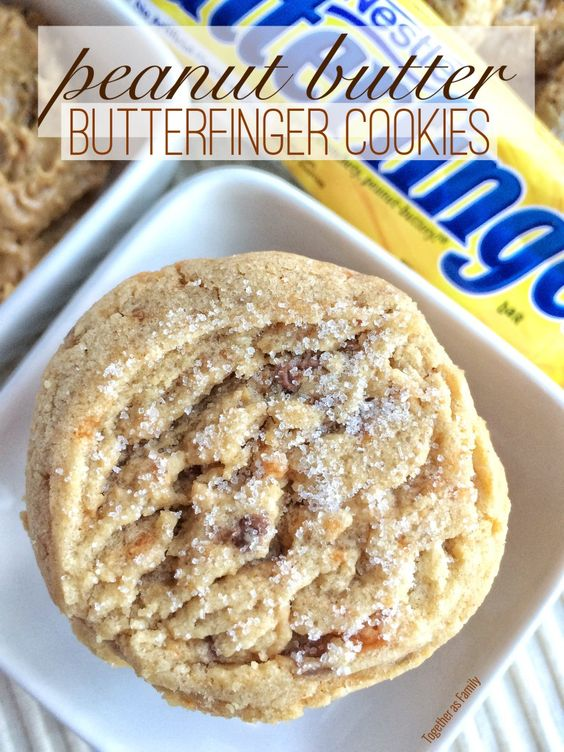 Butterfinger cookies, Best friends and Butter on Pinterest
