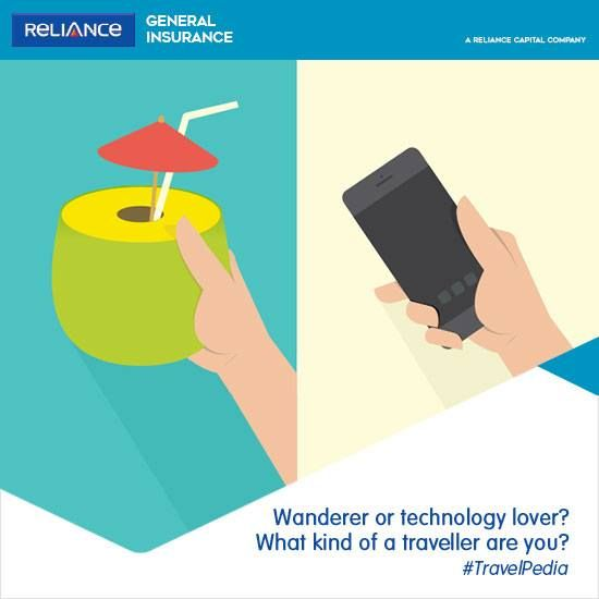 Reliance General Travel Insurance Presents Travelpedia What Kind