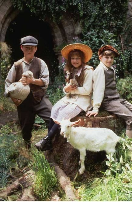 'The Secret Garden' Loved the book and the film. Don't know what it says about me that Colin was my favourite.