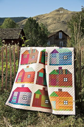 Sweet house quilt: