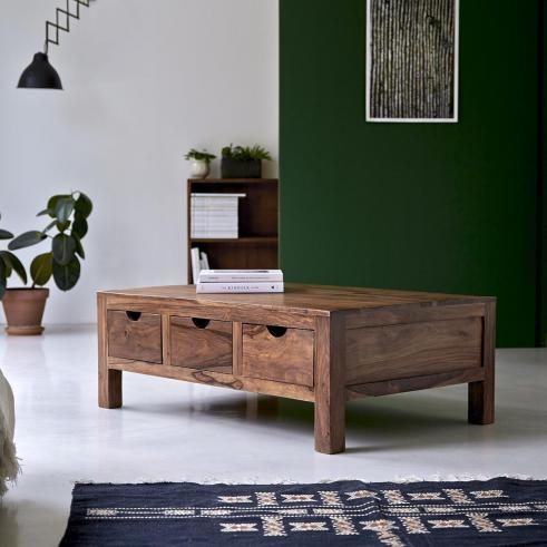 Table Basse En Palissandre 110 X 75 Cm Mobilier De Salon Table De Salon Salon En Bois Table Basse