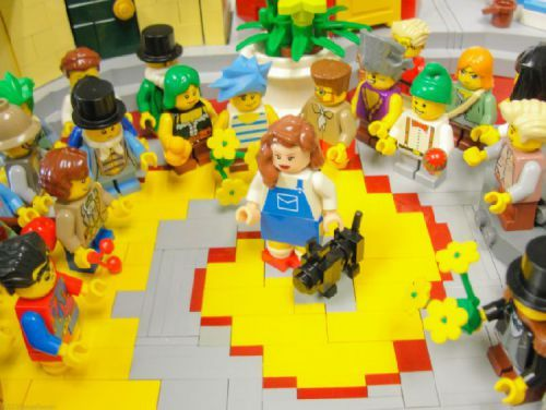 Wizard of Oz in Lego