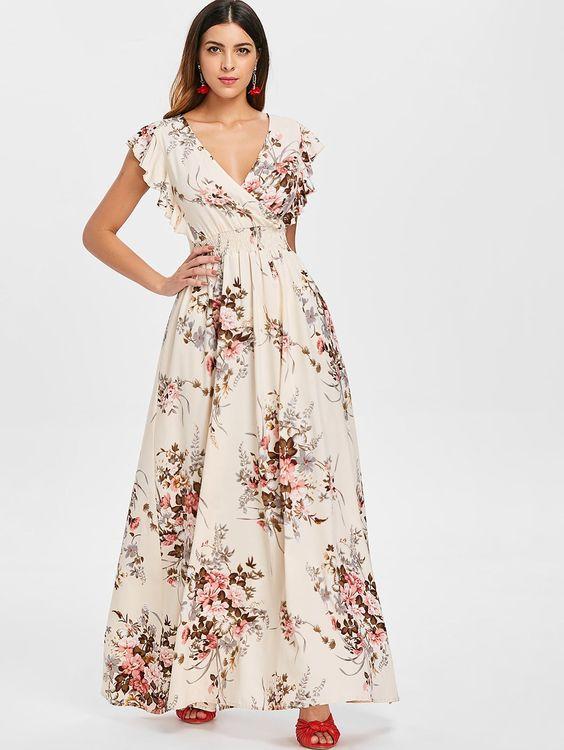 Vestido Envelope harmonioso simples