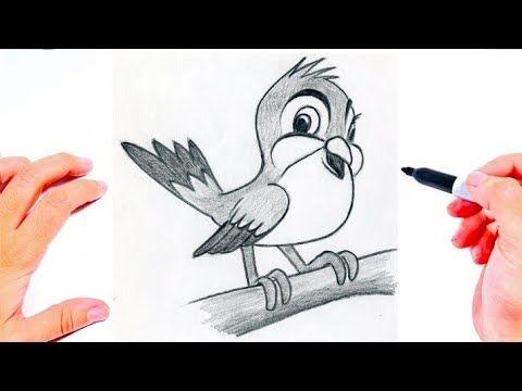 رسم عصفور بطريقة سهلة رسم سهل كيفية رسم عصفور بطريقة سهلة تعليم الرسم Youtube Fictional Characters Character Art