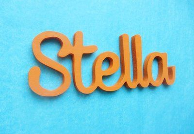 In this tutorial, you'll learn how to make custom wooden word art with a scroll saw and a few other basic tools. This project would make a great addition to any home decor.   Difficulty: Beginner; Length: Medium; Tags: Decorations, Woodwork, Babies and Kids, Homewares