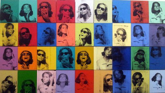 Andy  Worhol - Ethel Scull 36 Times @ MET Museum