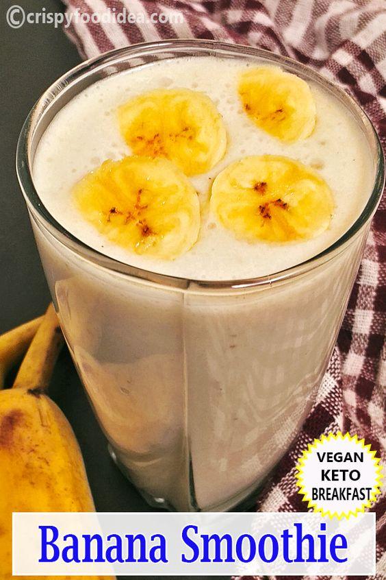 Keto Banana Smoothie