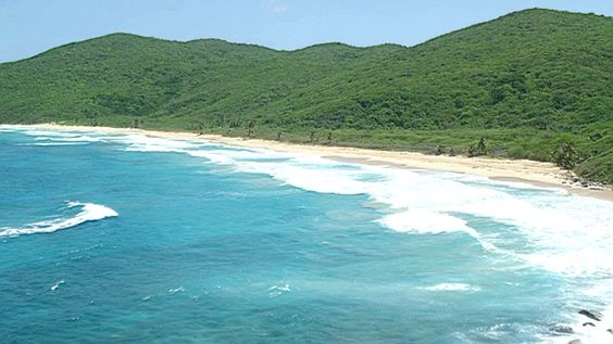 Culebra, Puerto Rico Aerial Stock Footage Videos in HD, 4K, UHD, 5K | AX102_116