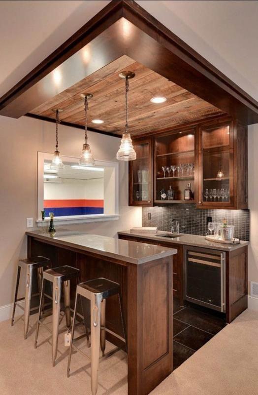 Basement Kitchen Cost Kitchen Small Basement Bar Ideas With Trendy