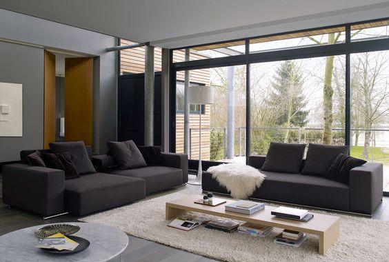 Sofas: ANDY '13 - Kollektion: B&B Italia - Design: Paolo Piva