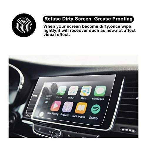 Screen Protector 8 in 2018 2019 Accord Sport EX EX-L Touring EX-L Navi Navigation Tempered Glass Screen Protector,HD Clear Scratch-Resistant Ultra HD Extreme Clarity with Screen-Printed Tech