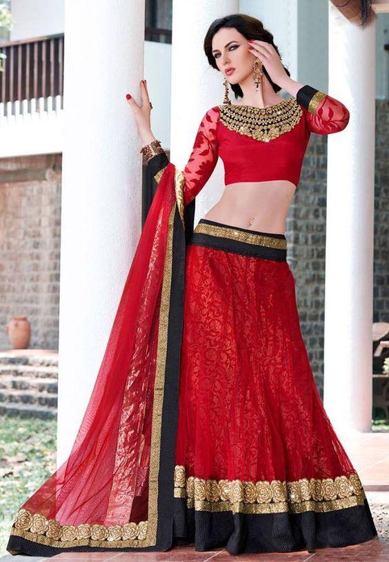 Red Black Sharara