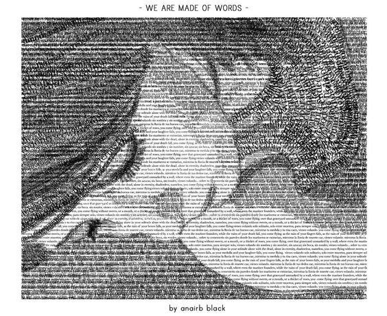 we are made of words. by sunfairyx.deviantart.com on @DeviantArt