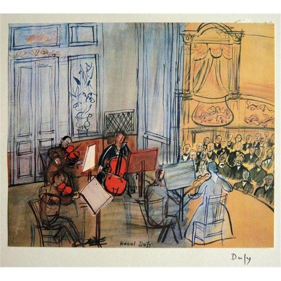 Dufy Raoul -Concert, 1950