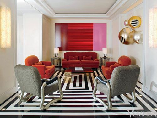 Mark hotel NYC design by Jaqques Grange
