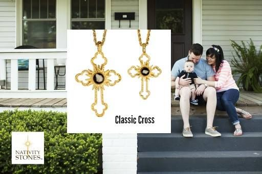 Give your Father a Gift with Meaning! A cross that holds a sacred piece of history. ➤ Buy here: http://bit.ly/nativitycross #cross #necklace #gift #fathersday #nativity